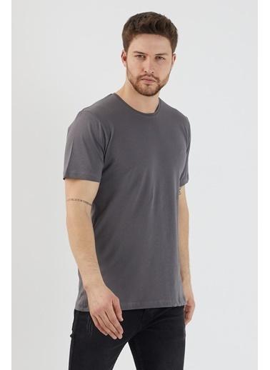 Slazenger Slazenger SANDER Erkek T-Shirt K. Antrasit